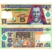 Гватемала бона (122d) 5 кетцалей 2013