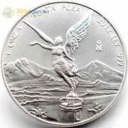 Мексика 2012 1 онза Свобода либертад (серебро)