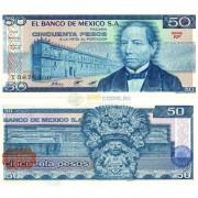 Мексика бона 50 песо 1981