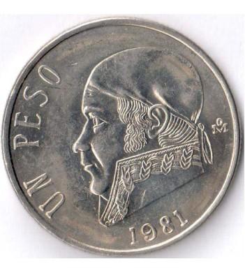 Мексика 1981 1 песо Хосе Морелос