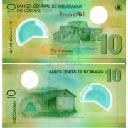 Никарагуа бона 10 кордоба 2007