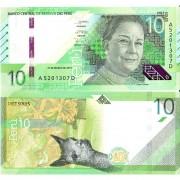 Перу бона (new) 10 солей 2019