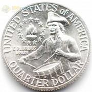 США 1976 25 центов Барабанщик (серебро) S