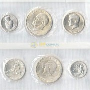 США 1976 Набор монет 200 лет независимости (серебро) S