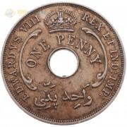 Британская Западная Африка 1936 1 пенни