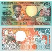 Суринам бона (134) 250 гульденов 1988