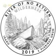 США 2019 Квотер №50 Резерват имени Фрэнка Черта (S)