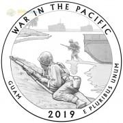 США 2019 Квотер №48 Монумент воинской доблести (P)