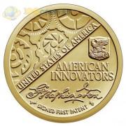 США 2018 1 доллар Инновации Первый патент (D)