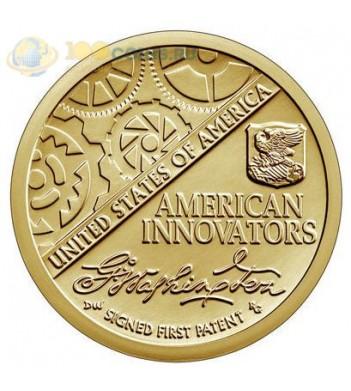 США 2018 1 доллар Первый патент серия Американские инновации (D)