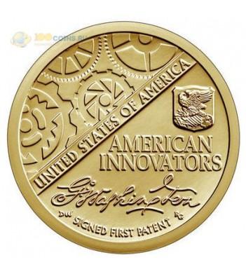 США 2018 1 доллар Первый патент серия Американские инновации (P)