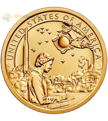 США 2019 1 доллар Сакагавея Индейцы в космосе (космическая программа) №12 (P)
