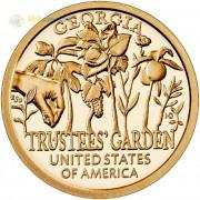 США 2019 1 доллар Инновации Посадка семян (P) №5