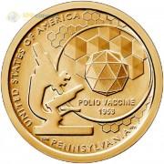 США 2019 1 доллар Инновации Вакцина (P) №3