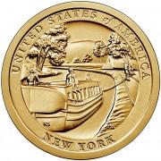 США 2021 №12 1 доллар Канал Эри (P)