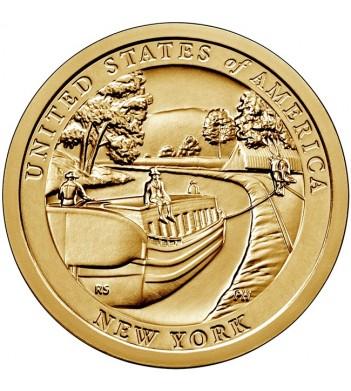 США 2021 1 доллар Инновации Канал Эри (D) №12