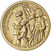 США 2021 №9 1 доллар Септима Кларк (P)