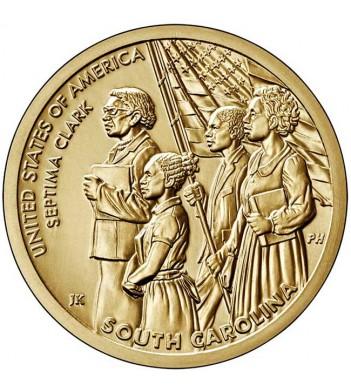 США 2021 1 доллар Инновации Септима Кларк (D) №9
