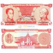 Венесуэла бона (070) 5 боливаров 1989