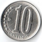 Венесуэла 2007-2012 10 сентимо