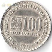 Венесуэла 2001-2004 100 боливар