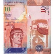Венесуэла бона (90d) 10 боливар 2013