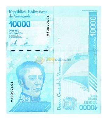 Венесуэла бона (new) 2019 10000 суверенных боливаров