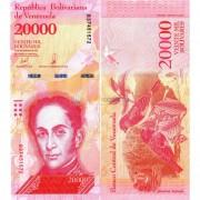 Венесуэла бона 20000 боливар 2017