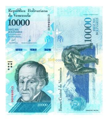 Венесуэла бона (98b) 10000 боливар 2017