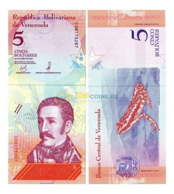 Венесуэла бона (p102) 2018 5 суверенных боливаров