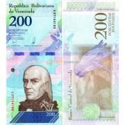 Венесуэла бона (p107) 2018 200 суверенных боливаров