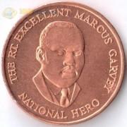 Ямайка 1995-2012 25 центов