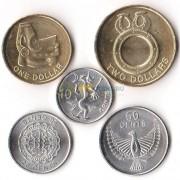 Соломоновы острова 2012 набор 5 монет