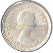 Австралия 1963 6 пенсов (серебро)