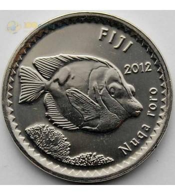 Фиджи 2012 5 центов Рыбка