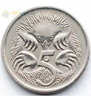 Австралия 2006 5 центов Короткоклювая ехидна