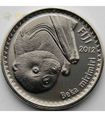 Фиджи 2012 10 центов Летучая лисица