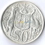 Австралия 1966 50 центов (серебро)