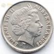 Австралия 1999-2017 5 центов Короткоклювая ехидна