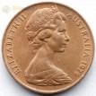 Австралия 1966-1984 2 цента Ящерица