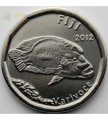 Фиджи 2012 50 центов Волнистый губан