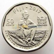 Фиджи 2017 50 центов Регби