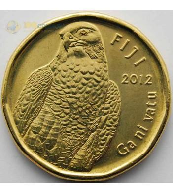 Фиджи 2012 2 доллара Сапсан