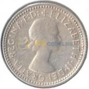 Австралия 1960 6 пенсов (серебро)
