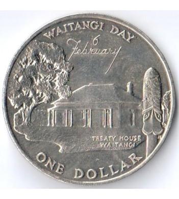 Новая Зеландия 1977 1 доллар