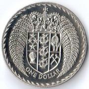 Новая Зеландия 1979 1 доллар
