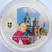 Палау 2010 1 доллар Епископ Иоанн Павел II