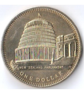 Новая Зеландия 1978 1 доллар