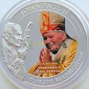 Палау 2011 1 доллар Беатификация Павла II