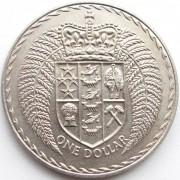 Новая Зеландия 1971-1976 1 доллар